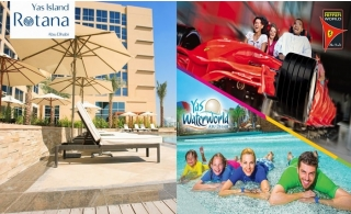 4* Yas Island Rotana Hotel Stay with Yas Park Tickets of your choice!