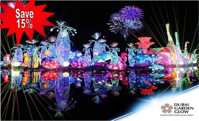 SPEND YOUR DAY-OFF WITH FAMILY AND FRIENDS AT THE DUBAI GARDEN GLOW!