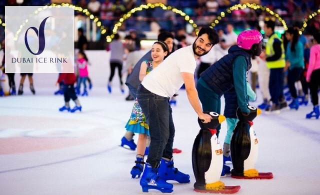 EXPERIENCE THRILLING AND CHILLING ICE SKATING AT DUBAI ICE RINK!